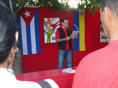 Periodistas tuneros firman por Venezuela