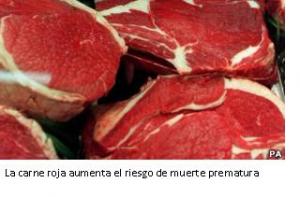 La carne roja aumenta el riesgo de muerte prematura. Colaboración del Dr. José Luis Rodríguez. ( Nefrólogo )