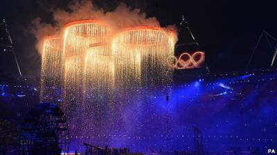 Londres recibe los Juegos Olímpicos
