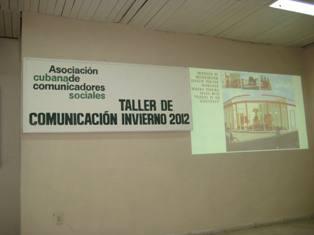 """Sesionó en Las Tunas """"Taller de Comunicación Invierno 2012"""""""