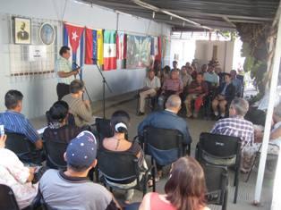 Encuentro sobre José Martí y la solidaridad humana