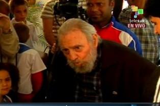 Fidel votó en su colegio electoral