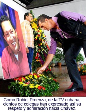 Mi prensa junto a Chávez...Por Pastor Batista. Tomado de Cubaperiodistas