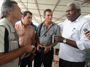 Un encuentro con el Presidente del Parlamento cubano