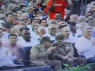 Preside Raúl Castro acto nacional por el 26 en Artemisa
